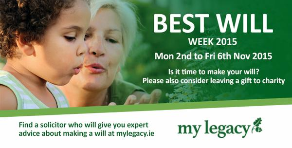"""BEST WILL WEEK"" MON 2ND-FRI 6TH NOV '15"
