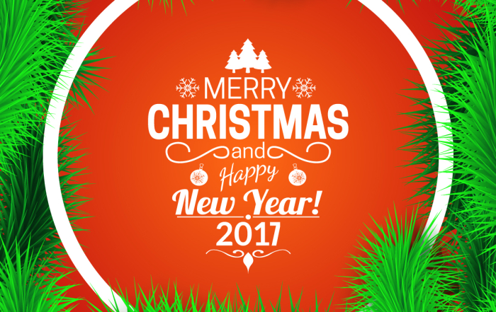 CHRISTMAS 2016 CLOSING TIMES