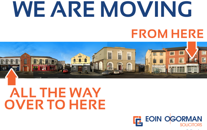 WE ARE ON THE MOVE!